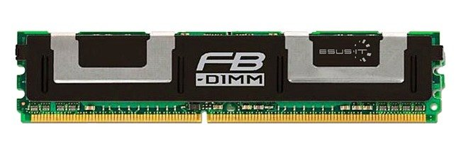 Arbeitspeicher 1x 4GB Hynix ECC FULLY BUFFERED DDR2 667MHz PC2-5300 FBDIMM | HYMP151F72CP8D5-Y5